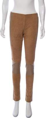 Surface to Air Suede Moto Skinny Pants w/ Tags