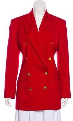 Burberry Burberrys Wool Vintage Coat