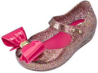 Mini Melissa Glittered Mary Jane Flat, Toddler $63 thestylecure.com