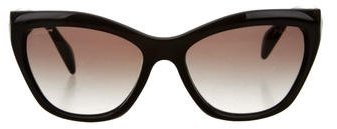 prada Prada Oversize Cat-Eye Sunglasses
