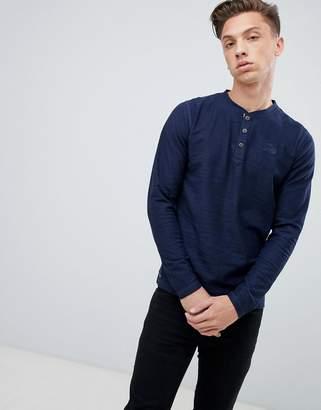 Tokyo Laundry Grandad Collar Lightweight Sweater