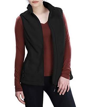 Outdoor Ventures Women's Soft Cozy Polar Fleece Vest Zip Up Gilet Thick Sleeveless Jacket with Pockets