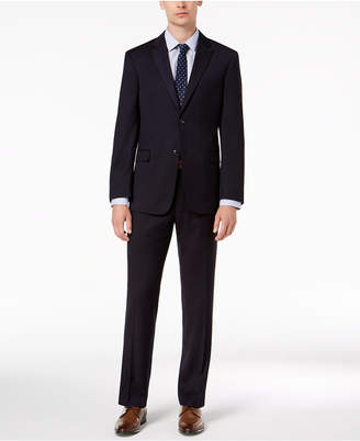 Tommy Hilfiger Men Modern-Fit THFlex Stretch Navy Twill Suit