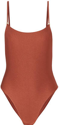 JADE SWIM Reel Swimsuit - Tan