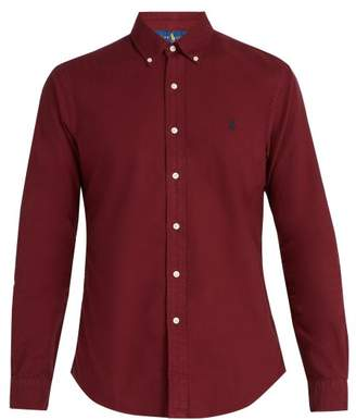 Polo Ralph Lauren - Slim Fit Cotton Shirt - Mens - Burgundy