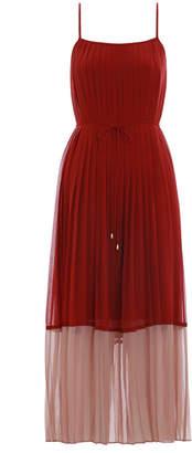 Zimmermann Splice Pleat Slip Dress