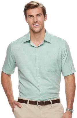 Croft & Barrow Big & Tall Regular-Fit Easy-Care Microfiber Button-Down Shirt