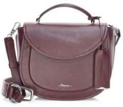 3.1 Phillip Lim Hudson Leather Top Handle Saddle Bag