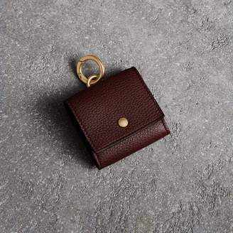 Burberry Small Square Leather Coin Case Charm