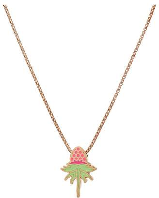 Alex and Ani Wrinkle In Time - Pink Uriel Flower 18 Inch Adjustable Necklace Necklace