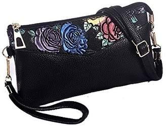 cd7e930a0bd2 at Amazon Canada · Duberess Women s PU Leather Clutch Wallet Travel Purse  Credit Card Holder Organizer Small Handbag
