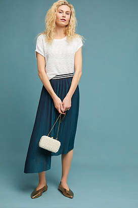 Seen Worn Kept Two-Toned Pleated Skirt