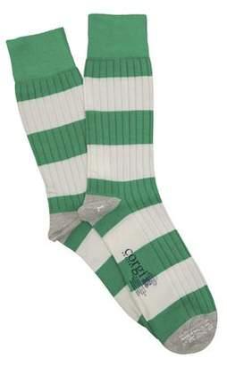 Corgi Rugby Sock in Green