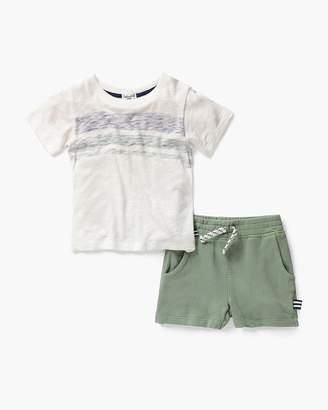 Splendid Little Boy Stripe Tee & Short Set
