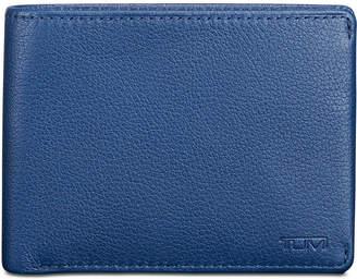 Tumi Men's Double Billfold Leather Wallet