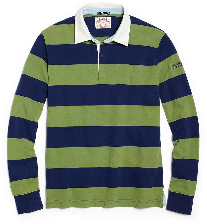Brooks Brothers Rugby Stripe Polo