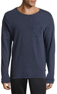 Scotch & Soda Jersey Long-Sleeve Cotton Tee