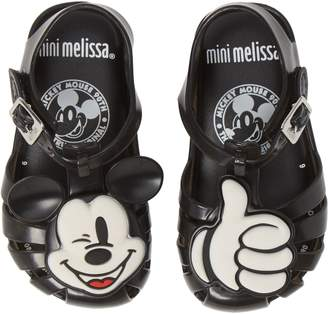 Mini Melissa Aranha + Mickey Fisherman Sandal