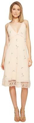 BB Dakota - Haleigh Embroidered Dress Women's Dress $105 thestylecure.com