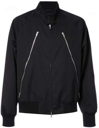 Maison Margiela bomber jacket with zip detail