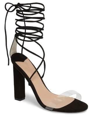 Womens Flower Ankle Strap Sandals Bianco r7v3Px2w