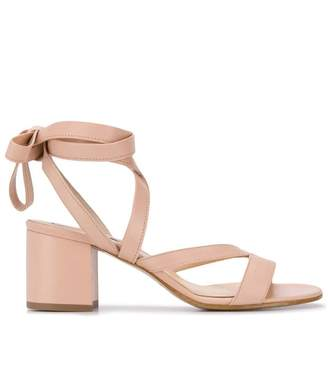 Fabio Rusconi wrapped ankle sandals