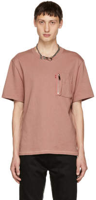 Christian Dada Pink Signature Pocket T-Shirt