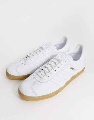 c94b2b5fc20a adidas Gazelle Trainers BB5479 White Contrast Sole