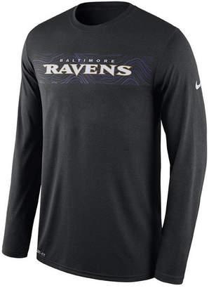 Nike Men's Baltimore Ravens Legend On-Fileld Seismic Long Sleeve T-Shirt