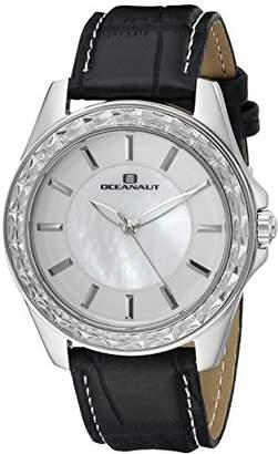 Oceanaut Women's OC1414 Angel Analog Display Quartz Black Watch