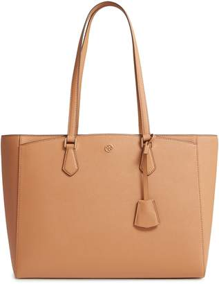 Tory Burch Brown Leather Tote Bags - ShopStyle ce5f141045