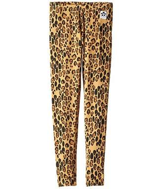 Mini Rodini Basic Leopard Leggings (Infant/Toddler/Little Kids/Big Kids)