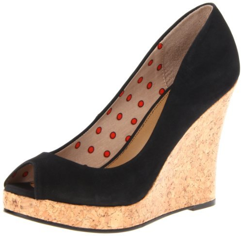 Fergalicious Women's Untold Wedge Pump