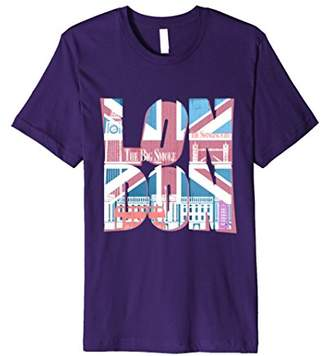 PREMIUM Union Jack T-shirt Vintage UK Flag Tee British Retro