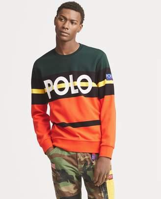 Ralph Lauren Hi Tech Double-Knit Sweatshirt