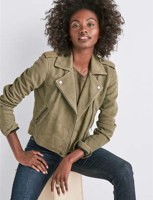 Lucky Brand HELEN LEATHER MOTO JACKET