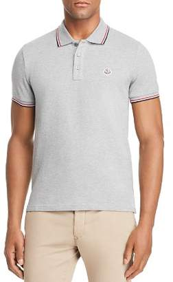 Moncler Maglia Tipped Polo Shirt