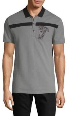 Versace Cotton Logo Polo