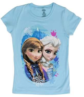 Disney Juniors Frozen Sisters Short-Sleeve T-Shirt