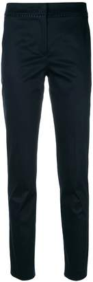 Blumarine embroidered detail trousers