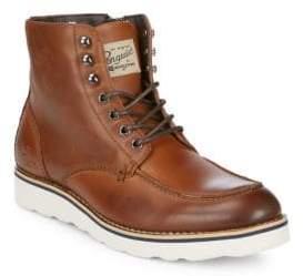 Original Penguin Nigel Leather Ankle Boots
