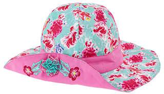 Monsoon Kiko Turn Up Flower Hat