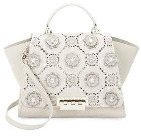 Eartha Iconic Floral Leather Bag