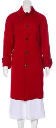 Ralph Lauren Purple Label Collared Long Coat