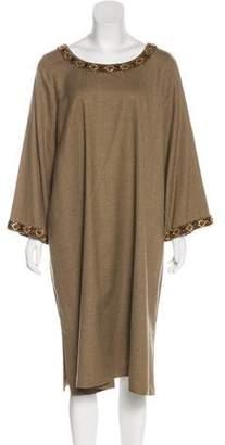 eskandar Wool Midi Dress