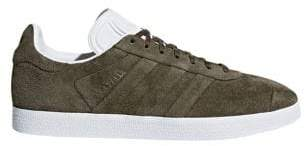 adidas Mens Gazelle Stitch-And-Turn Suede Sneakers