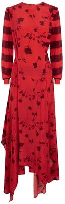 Preen Line Hebe Printed Satin Dress