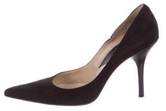 Michael Kors Suede Pointed-Toe Pumps