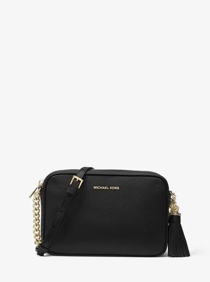 MICHAEL Michael Kors Ginny Leather Crossbody Bag