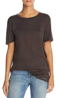 Project Social T Lugo Distressed Tunic Tee